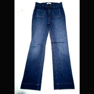 Ann Taylor Loft Petite 26/2 Wide Leg Trouser Jeans